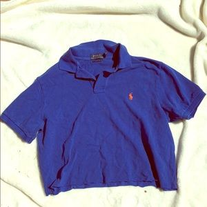 Polo crop top